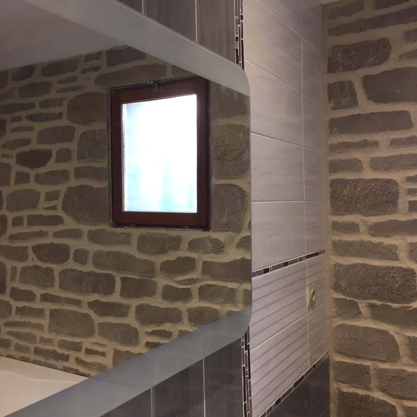 salle de bain enduit pierre facade d co. Black Bedroom Furniture Sets. Home Design Ideas